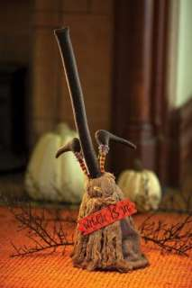 HALLOWEEN DANCING BROOM WITCH PROP SOUND DECORATION NEW