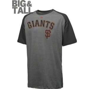 San Francisco Giants Big & Tall Majestic Heather Grey Record