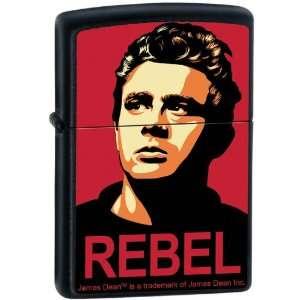 Zippo Custom Lighter   James Dean Actor REBEL Obey Design