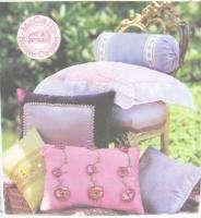 Pillow Essentials Home Dec Sewing Pattern 3070 Round Neck Roll
