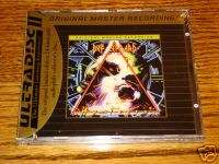 DEF LEPPARD HYSTERIA MFSL GOLD CD SEALED WITH J CARD