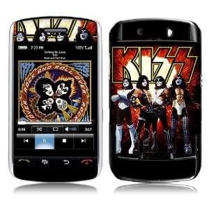 MS KISS10008 BlackBerry Storm .50  9500 9530 9550  KISS  Love Gun Skin