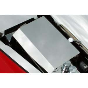Corvette 05 10 Chevy ACC Polished SS Fuse Box Cover