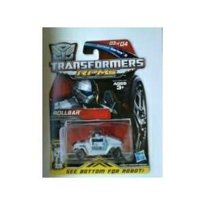 TRANSFORMERS RPMs Combat Series 2 Rollbar #03 of 04 Toys
