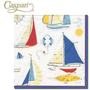 Caspari Paper Napkins 10010C Ship to Shore Cocktail