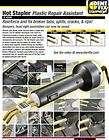 Spitznagel Dent Fix Df 800BR Hot Stapler   Plastic Repair Assistant