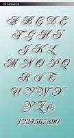 Monogram Silver Initial RNS Wedding Cake Topper
