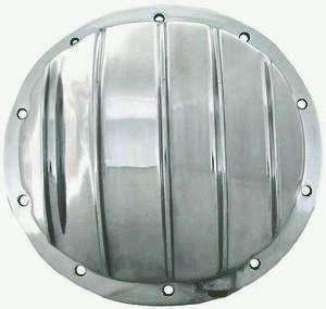 REAR END ALUMINUM DIFFERENTIAL COVER POLISHED 10 OR 12 BOLT FOR GM