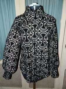 Vintage 70s Monzini Collection Velvet Disco Shirt EUC M