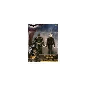 The Dark Knight 3.75 Inch Thermo Suit Batman vs. Joker