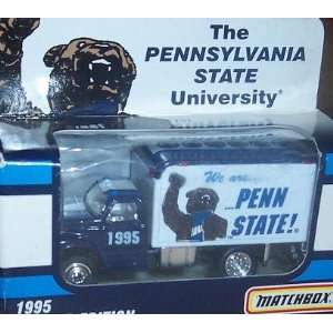 State 1995 Matchbox Ford F800 Delivery Truck 1/64 Scale Diecast Car
