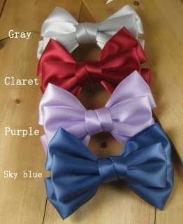 LOT Ribbon Girls Hair Bow Tie Headband Hair Clip