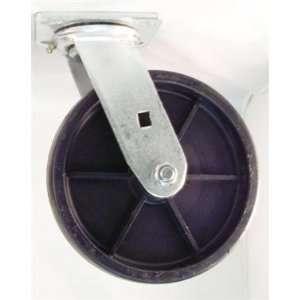 6PHPS 6 Swivel Caster Heavy Duty Plastic Wheel  Industrial
