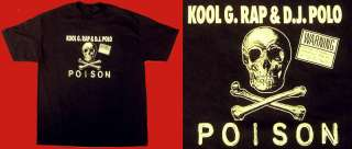 KOOL G RAP & DJ POLO T shirt Poison Road To The Riches