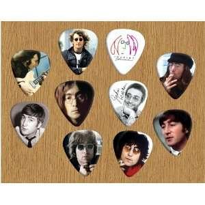John Lennon Beatles Loose Guitar Picks X 10 (Limited to 500 sets of 10