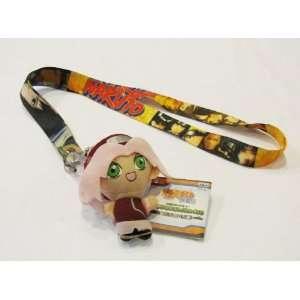 Naruto Lanyard Key Chain Holder with Bonus 3 Plush Automotive
