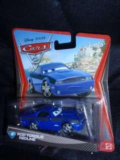 Disney Pixar Cars 2 ROD TORQUE REDLINE #16 long card