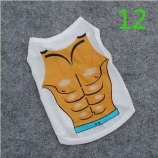 Pet Small Dog Clothing Puppy Clothes Various T Shirt