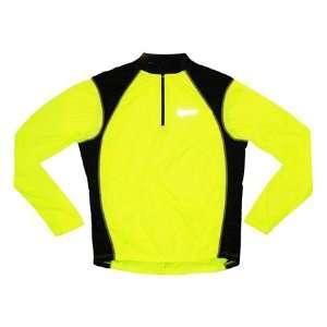Canari Sight Neon Orange Cycling Jersey Mens Long Sleeve
