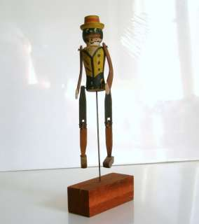 Antique Dancing Rastus Ragtime 1915 Alabama Coon Jigger Dapper Dan