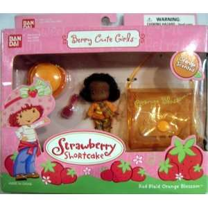 BAN DAI 2003 STRAWBERRY SHORTCAKE BERRY CUTE GIRLS COLLECTION RED