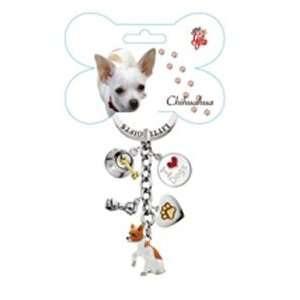 Little Gifts Enamel Keychain Chihuahua