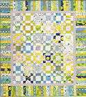 Spring Fling   quick & easy pieced quilt pattern for beginners