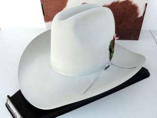 Cowboy Hat 4X Beaver Fur Felt Silver Belly Quarter Horse 60