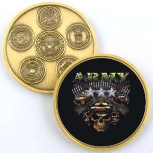 ARMY RANK LIEUTENANT GENERAL CHALLENGE COIN YP378