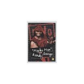 WCW/nWo Retail Stickers #S3   Macho Man Randy Savage: Sports