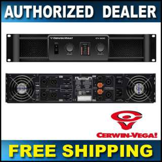 Cerwin Vega CV 900 HIGH PERFORMANCE POWER AMPLIFIER