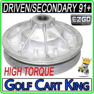 High Torque EZGO Driven Clutch for 4 cycle 91+ Model Golf Carts