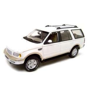 FORD EXPEDITION EDDIE BAUER EDITION WHITE 118 MODEL