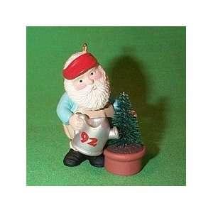 Green Thumb Santa 1992 Hallmark keepsake Christmas tree