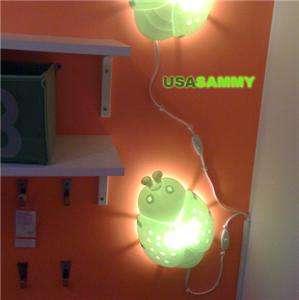 IKEA Children Child Kid Lamp Light Wall Sconce Bug