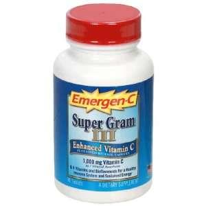 Emergen C Super Gram III Tablets, 90 Count Bottle (Pack of 2)
