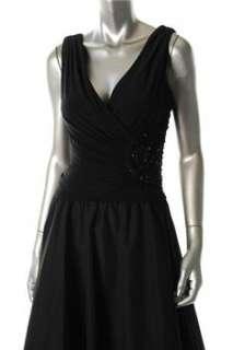 Jessica Howard NEW Black Versatile Dress BHFO Embellished 6