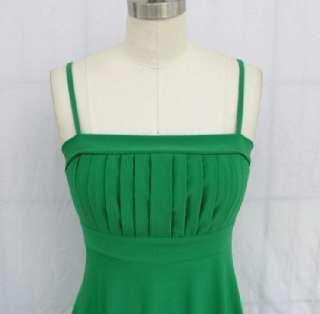 EMERALD GREEN STRETCHY COCKTAIL PARTY SUN DRESS Sz S, M, L, XL, 2X, 3X