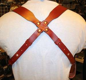 LEATHER SHOULDER HOLSTER RIG 4 WALTHER PPS