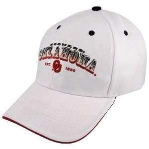 Twins Enterprise Oklahoma Sooners White Pioneer Hat