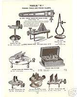 1900 WATCHMAKERS JEWELERS POISING PINION TOOL Ad