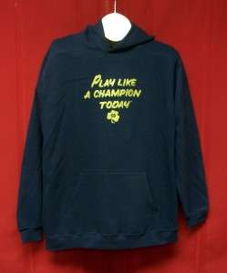 Notre Dame Play Like a Champion Today hoodie hooded sweatshirt YOUTH