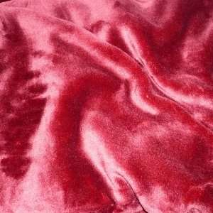 BurgundyRed Super Soft Mink Blanket Full/Queen Size