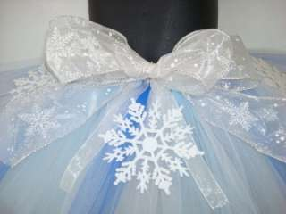 Holiday winter snow tutu set pageant christmas pictures