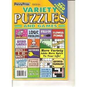 Penny Press Variety Puzzles and Games (Over 260 puzzles, February 2011