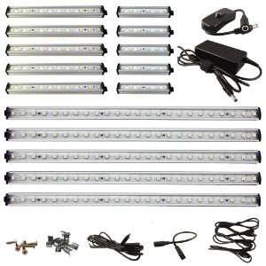 33 LED Under Cabinet Light COMPLETE KIT Warm White (3000K