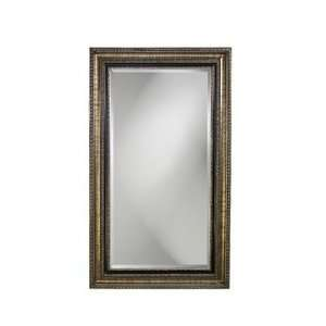 Texan Full Length Mirror in Silver Leaf