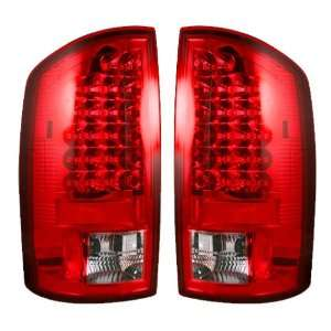 Recon 264171RD Red LED Tail Light Automotive