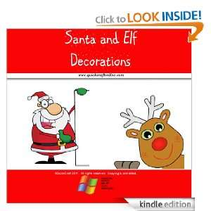 Christmas Craft Kids Santa and Elf Decorations (QuickCraft) [Kindle