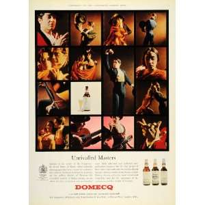 1964 Ad Domecq Spanish Sherry Flamenco Dance Dancers
